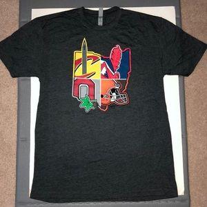 🏀⚾️🏈NWOT Ohio Cleveland Sports Teams T-Shirt